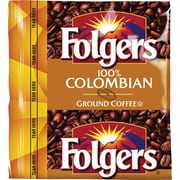 Folgers® 100% Colombian Ground Coffee, Regular, 1.75 oz., 42 Packets