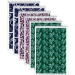 Tops Designer Steno Pads, Assorted Colors, 6in. x 9in.