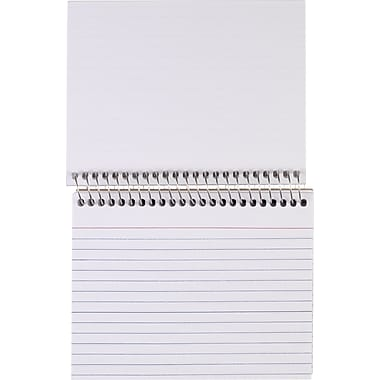 Staples® Spiral-Bound Index Cards, 4