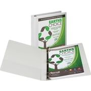"1"" Samsill® Earth's Choice™ Biodegradable  Binders White"