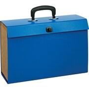 Staples® Expanding Case File, Legal, A-Z Index, Blue