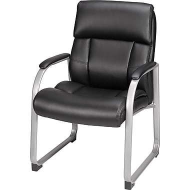 black bonded leather executive guest office business chair ebay