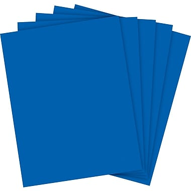 Wausau® Astrobrights Colored Paper, 8 1/2in. x 11in., Blast-Off Blue, Ream
