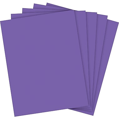Wausau® Astrobrights Colored Paper, 8 1/2in. x 11in., Gravity Grape, Ream