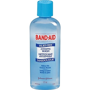 BAND-AID Brand® HURT-FREE Antiseptic Wash