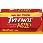 TYLENOL Acetaminophen Tablets, Extra Strength, 200/Pack