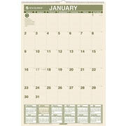 "2014 AT-A-GLANCE® 100% Recycled Monthly Wall Calendar, 15 1/2"" x 22 3/4"""