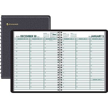 2014 AT-A-GLANCE® Large Print Weekly Appointment Book, 8in. x 11in.