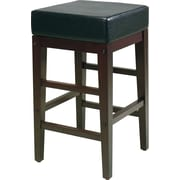 "Office Star Barstool, 30"" Square, Espresso"