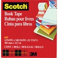 Scotch® Book Tape 845, 4in. x 15 yds, 3in. Core