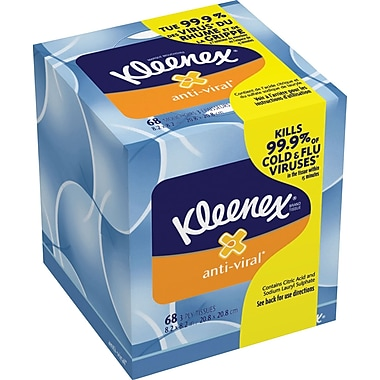 Kleenex® Antiviral Facial Tissue