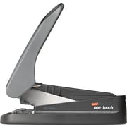 Staples® One-Touch™ High-Capacity Flat-Stack Stapler, 60 Sheet Capacity, Black/Gray