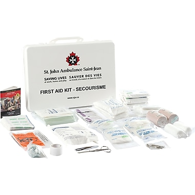 St. John Ambulance First Aid Kit, Alberta