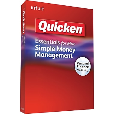 Quicken Essentials for Mac (1-User) [Boxed]
