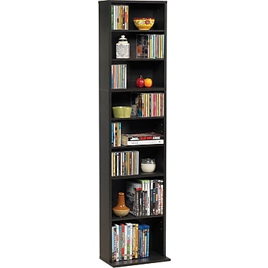 Atlantic® Summit Multi-Media Tower Cabinet, Espresso Finish