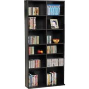 Atlantic® Oskar Games Media Tower Cabinet, Espresso Finish