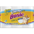 Charmin® Basic Bath Tissue Rolls, 1-Ply, 48 Rolls/Case
