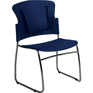 Balt ReFlex™ Stacking Chairs, Blue
