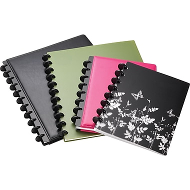 M by Staples™ Arc Customizable Poly Notebook, 120 Pages