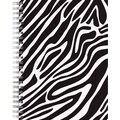 Great Papers® Black & White Zebra Spiral Notebook, 2 /Pack