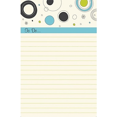 Great Papers® Outline Dots List Pad, 3/Pack