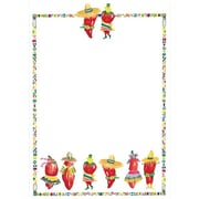Great Papers® Chili Peppers Flat Card Invitations and Envelopes