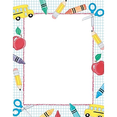 Great Papers School Stuff Letterhead, 100/Pack
