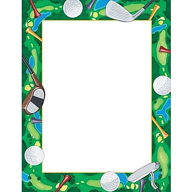 Great Papers® Tee Time Golf Stationery