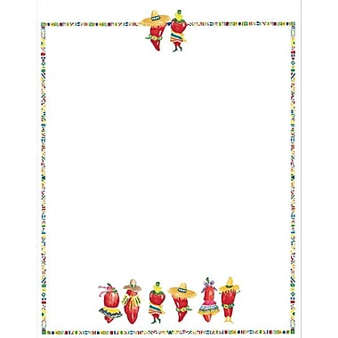 Great Papers® Chili Peppers Letterhead, 100/Pack