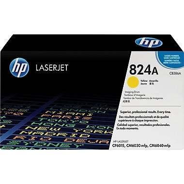 HP 824A (CB386A) Tambour LaserJet jaune d'origine