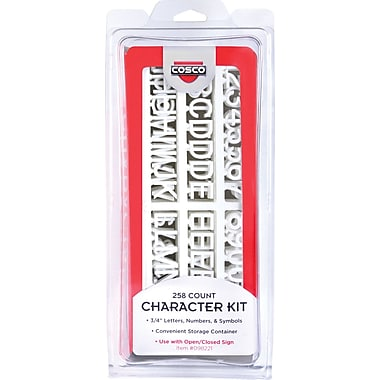 Cosco® Character Sign set