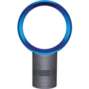 Dyson Air Multiplier™ AM01 Table Fan, Satin Iron/Blue, 10