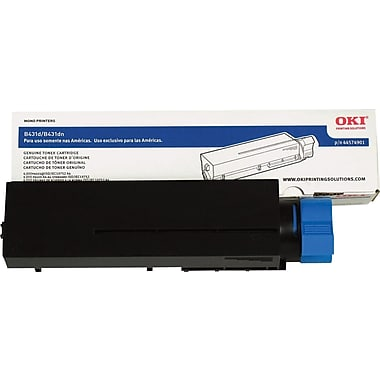 Okidata 44574901 BlackToner Cartridge, High Yield