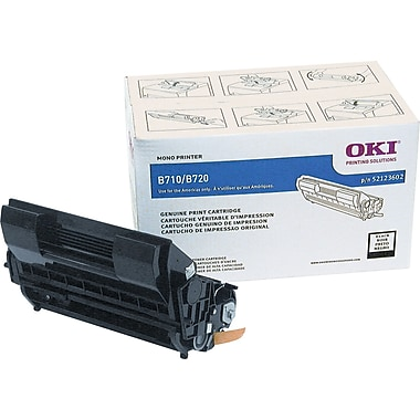 OKI® 52123602 Black Toner Cartridge, High Yield