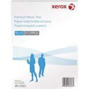 Xerox Premium Never Tear Polyester Laser Paper, 8-1/2 x 11, 100/Pack