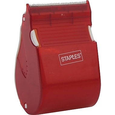 Staples® - Dévidoir de ruban adhésif Fast Touch et recharge, 6 rouleaux