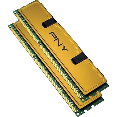 PNY 8GB (2 x 4GB) DDR3 (240-Pin SDRAM) DDR3 1333 (PC3 10666) Universal Desktop Memory