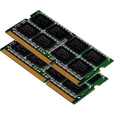 PNY 8GB (2 x 4GB) DDR3 (204-Pin SDRAM) DDR3 1066 (PC3 8500) Universal Laptop Memory