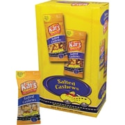 Kar's® Salted Cashews, 1 oz. Bags, 24 Bags/Box