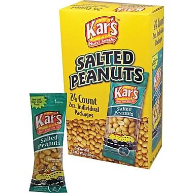 Kar's® Salted Peanuts, 2 oz. Bags, 24 Bags/Box