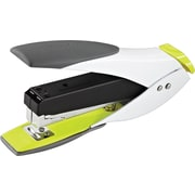 Swingline® SmartTouch™ Fashion Compact Half Strip Stapler, Staples up to 25 sheets, White/Yellow