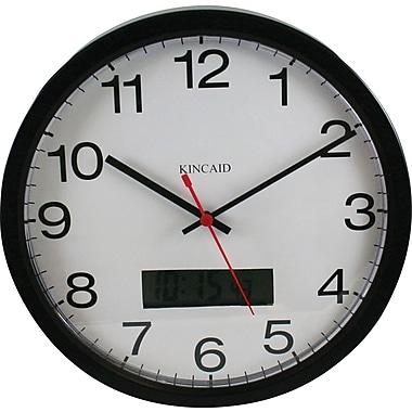 Kincaid 12in. Analog Clock, Black