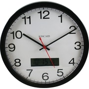 Kincaid® 12 Analog Clock, Black