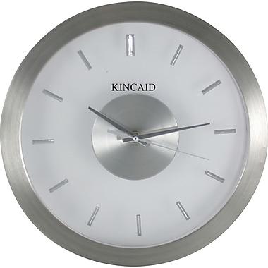 Kincaid 12in. Aluminum Wall Clock