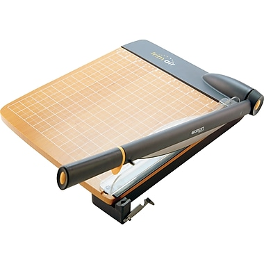 Westcott® 12in. TrimAir Guillotine Paper Trimmer with Microban Protection, 30 Sheet Capacity, Maple