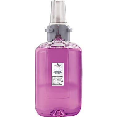 Brighton Professional™ Antibacterial Foam Soap, Plum Scent, Refill, 1,250 ml.