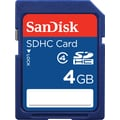 SanDisk Standard SD (SDHC) Card Class 4 Flash Memory Cards