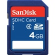 SanDisk 4GB Standard SD (SDHC) Card Class 4 Flash Memory Card