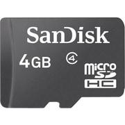 SanDisk 4GB Standard microSD (microSDHC) Card Class 4 Flash Memory Card
