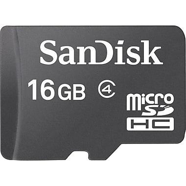 SanDisk 16GB Standard microSD (microSDHC) Card Class 4 Flash Memory Card